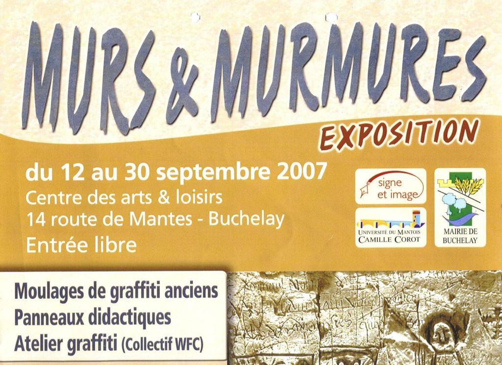 affiche Murs et Murmures