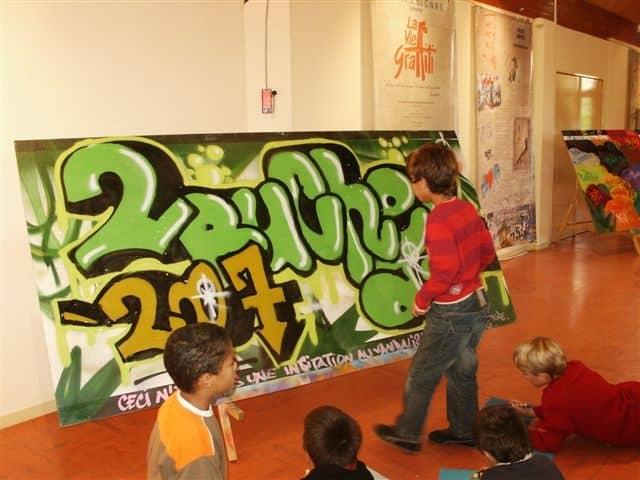 graff avec intervenante Jessy Montlouis