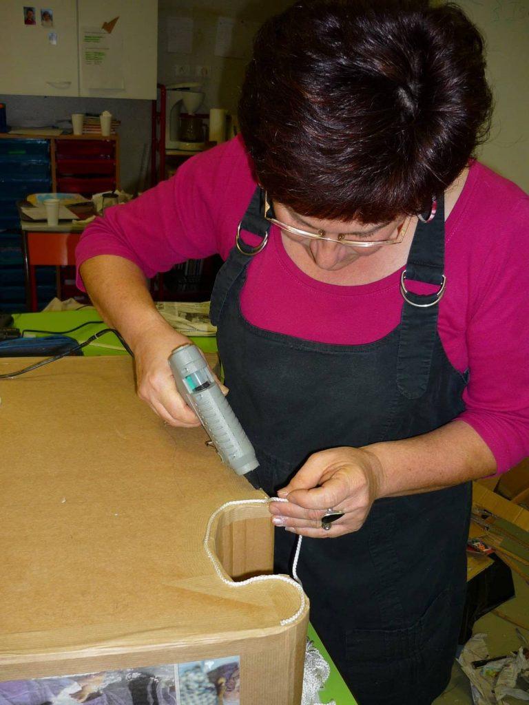 Atelier création meubles en papier